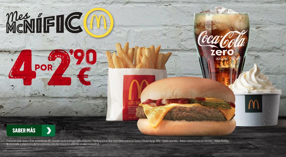 oferta mcdonals, mcnifico, restaurantes, hamburguesas,