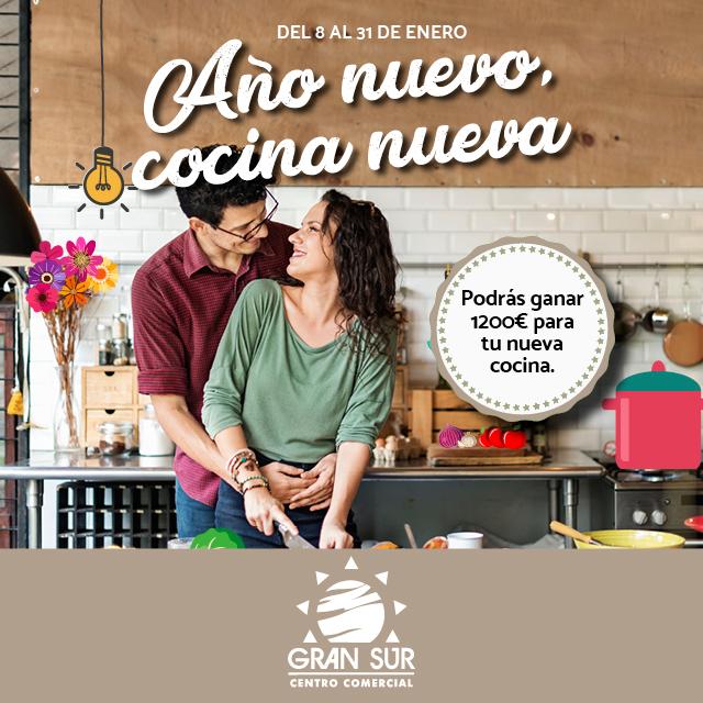 Año nuevo, cocina nueva - Centro Comercial Gran Sur